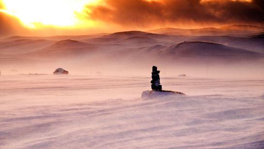 En Norvège, le plateau Hardangervidda était le lieu utilisé pour simuler la planète glacée Hoth. Les ...