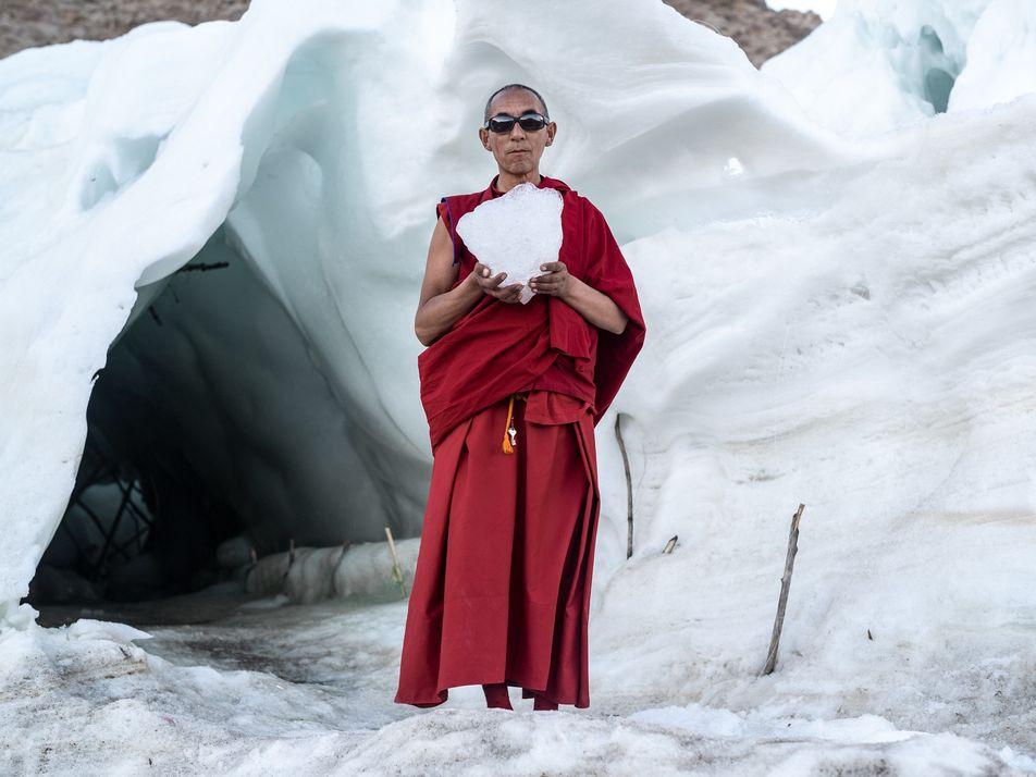 Les stupas de glace pour parer les effets du changement climatique