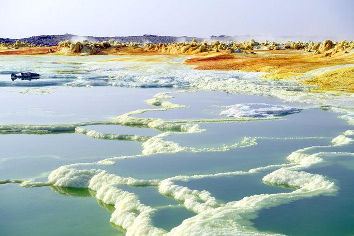 L'idée de se rendre dans l'un des endroits les plus chauds et les plus inhospitaliers de ...