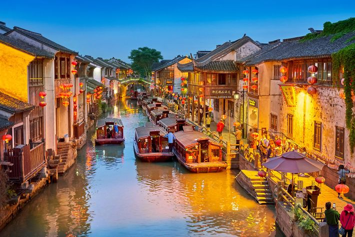 Le Grand Canal Jing-Hang de Suzhou est le plus long et le plus vieux au monde.