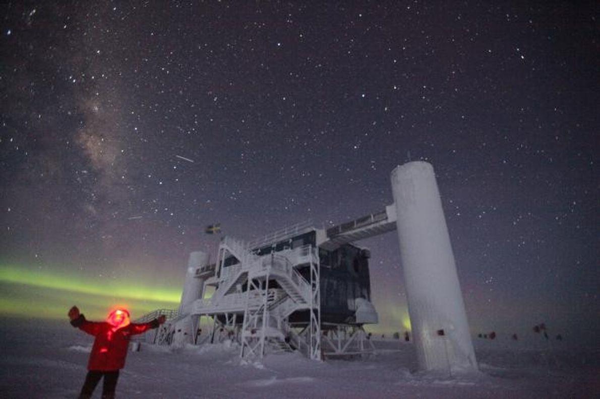 Vent, froid et aventure : un hiver au Pôle Sud