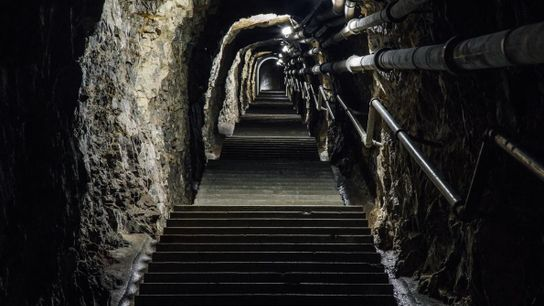 Escaliers, Fort Waldbrand
