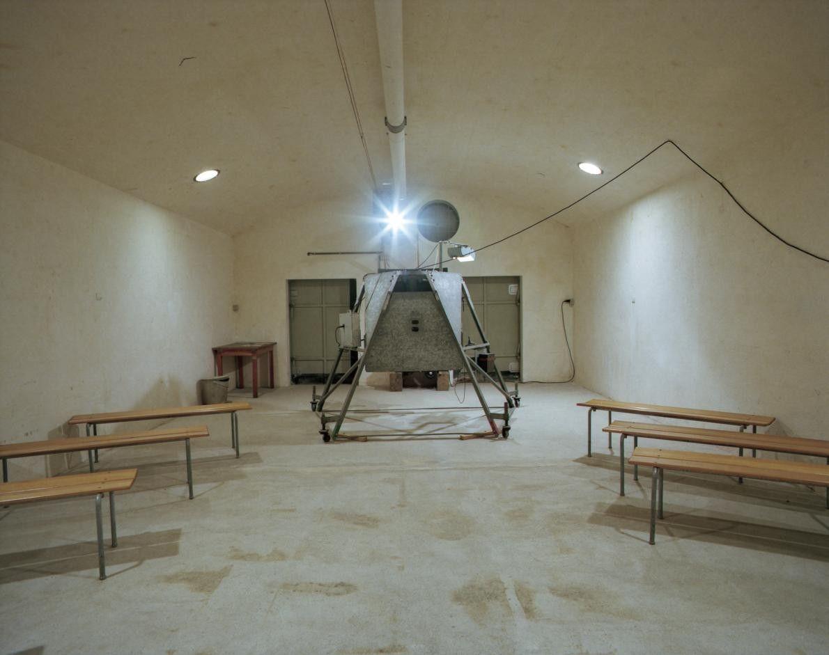 Simulateur de mitrailleuse, Fort Cindey
