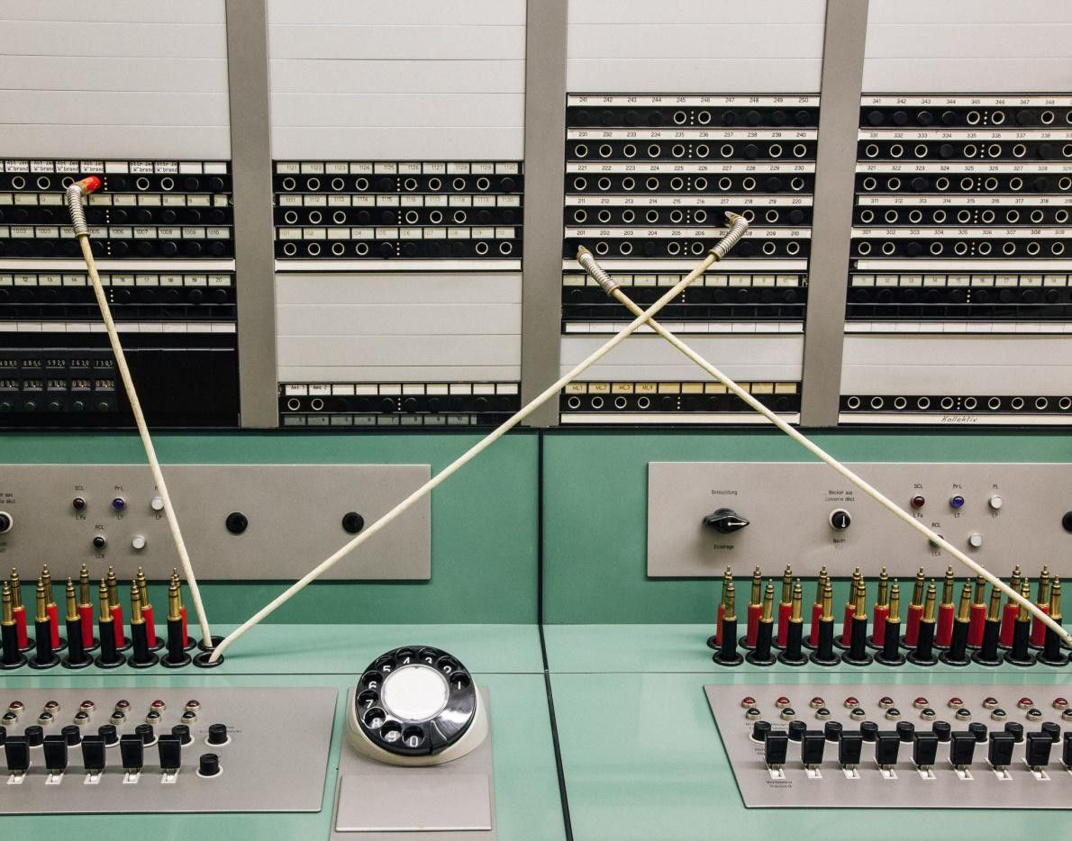 Poste radio, Fort Waldbrand
