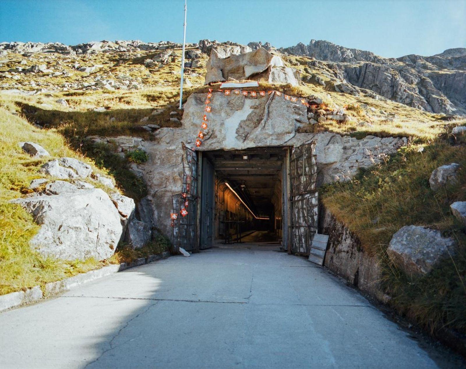 Entrée du Fort Sasso da Pigna