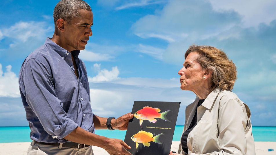 Au cœur des océans avec Jessica Cramp et Sylvia Earle