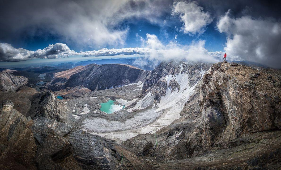 Le North Arapahoe Peak est le point culminant des montagnes rocheuses, à 4 115 m d'altitude.