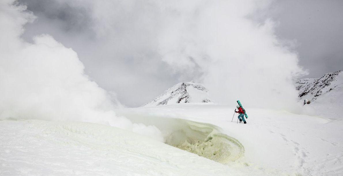 """""""Nous nous sommes aventurés dans le Parc national de Daisetsuzan pour une expérience de ski un ..."""