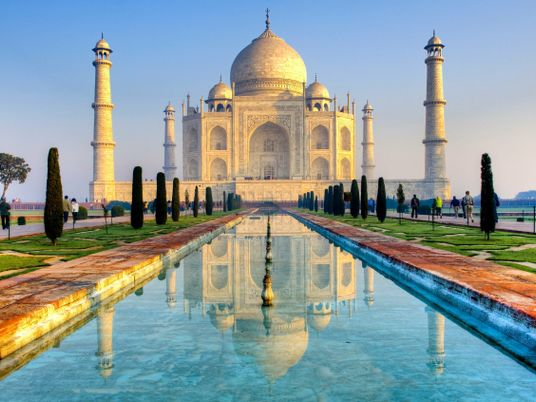 Le Taj Mahal, mausolée de l'amour disparu