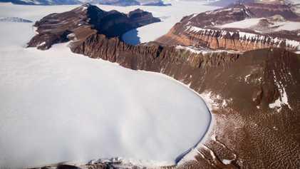 L'inlandsis Est Antarctique, le plus grand du monde, est en proie au changement climatique