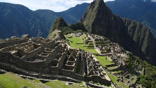 Quand Hiram Bingham «découvrit» le site du Machu Picchu en 1911, seules deux familles habitaient les ...