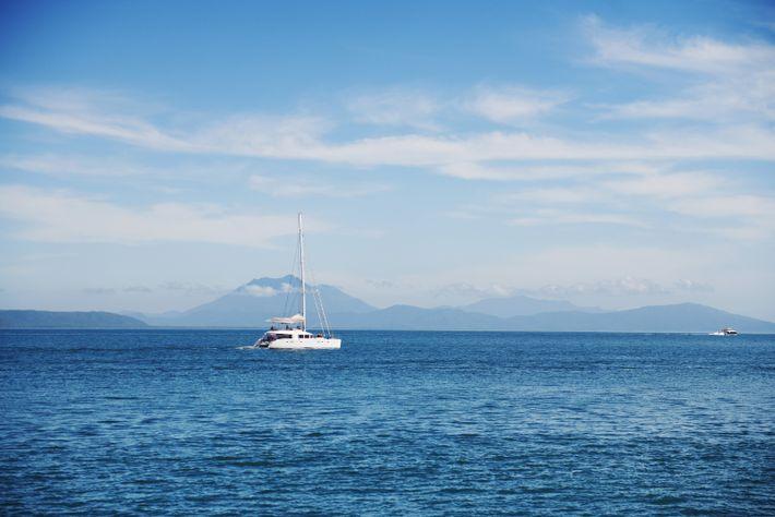 Au départ de Port Douglas, à l'extrême nord de l'État du Queensland (Australie), nous rejoignons la ...