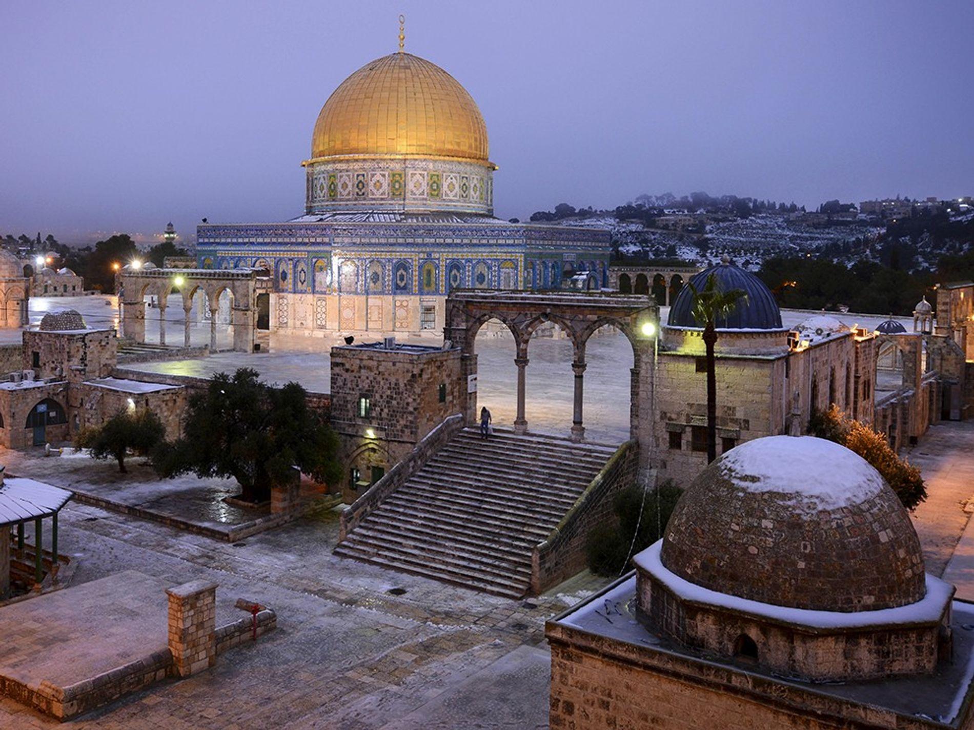 Le très contesté lieu saint classé au Patrimoine mondial de l'UNESCO, désigné par les Juifs comme ...