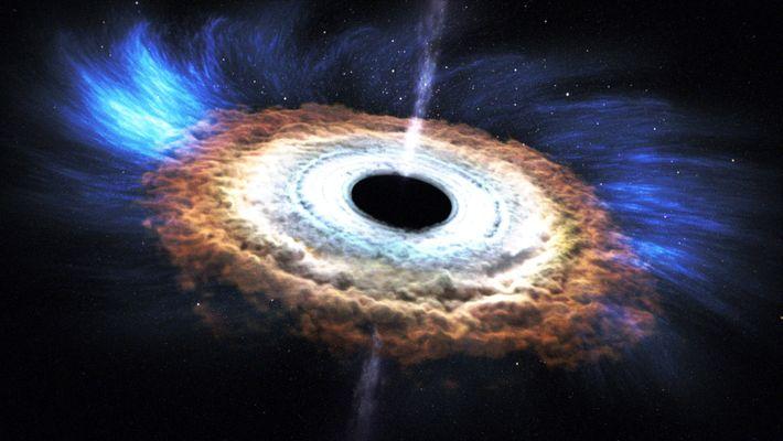 Comprendre : les trous noirs