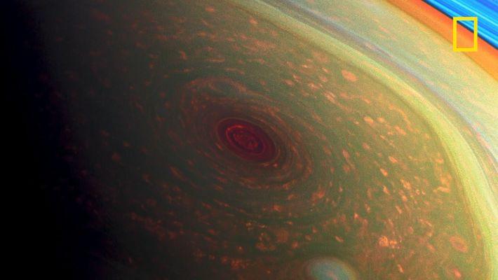 L'hexagone de Saturne, un ouragan géant ?