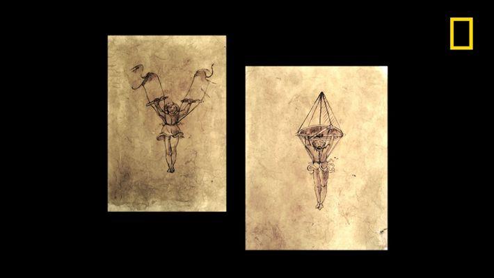 Les machines volantes dessinées par De Vinci auraient-elles pu fonctionner ?