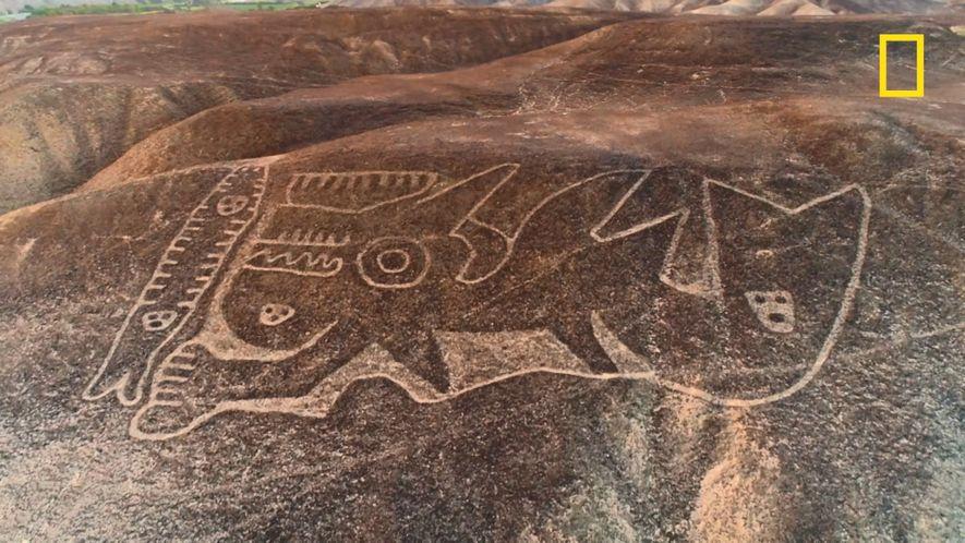 Les géoglyphes de la civilisation de Paracas