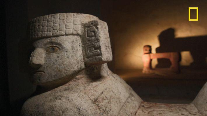 Le trône des rois mayas