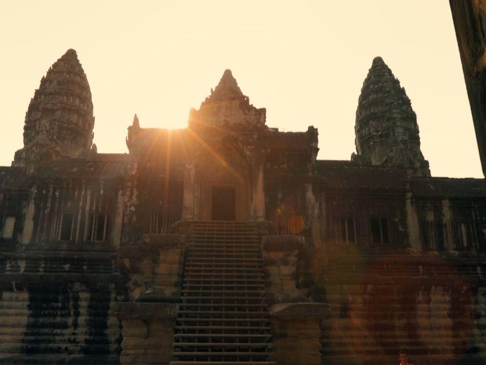 Le fabuleux temple d'Angor Wat