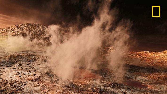 La découverte involontaire d'un nouveau matériau sur Mars