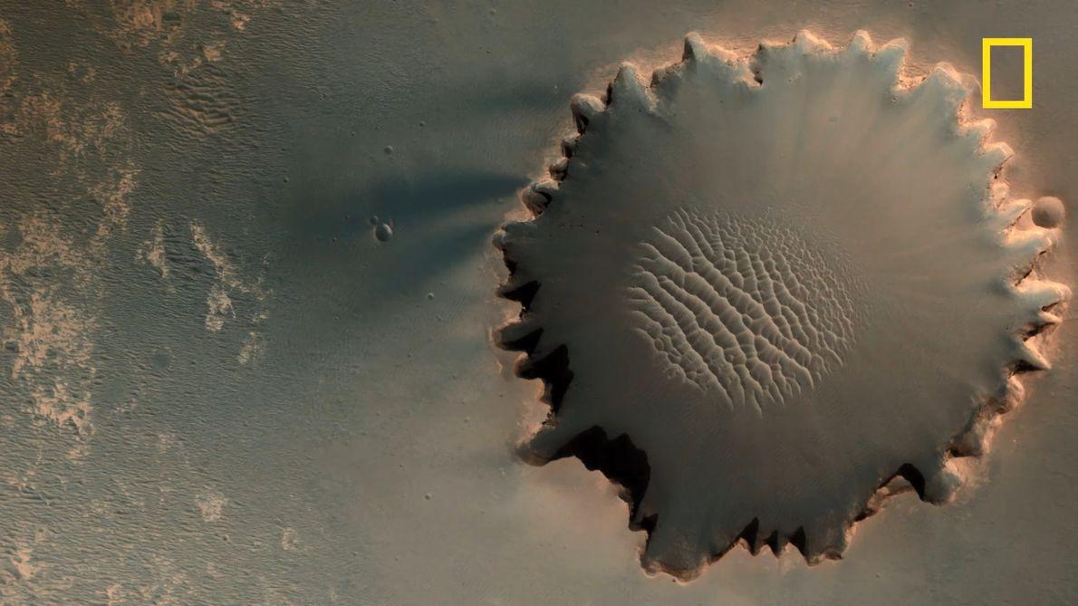 Les troublantes images de Mars