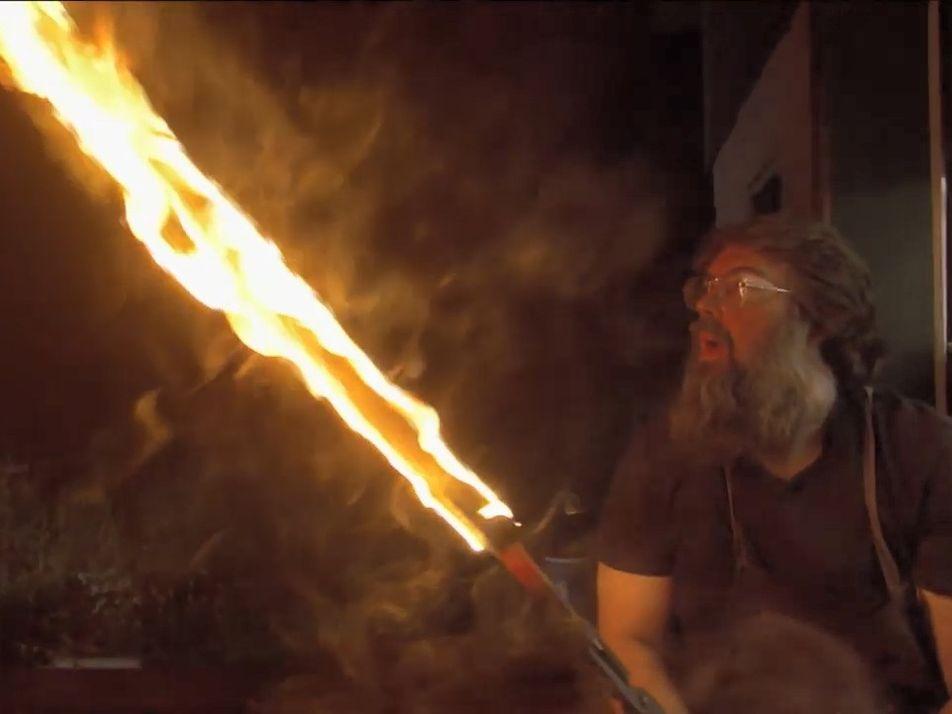 La trempe, étape critique de la confection d'une épée viking