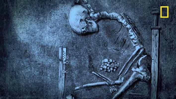 La guerrière de Birka, l'un des plus grands guerriers vikings