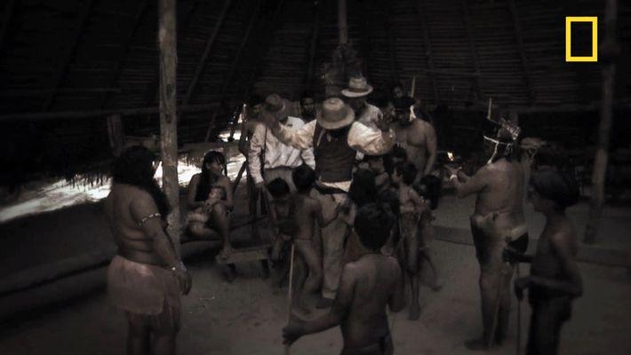 La tribu Kuikuros raconte sa rencontre avec Percy Fawcett