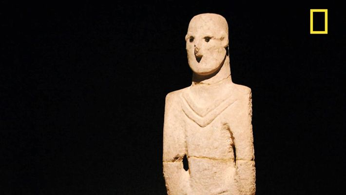 Les peuples du néolithique primitif savaient sculpter des visages humains