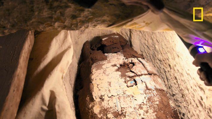 Découverte d'une momie vieille de plusieurs milliers d'années