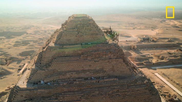 La nécropole de Saqqarah, aux origines de l'Égypte antique