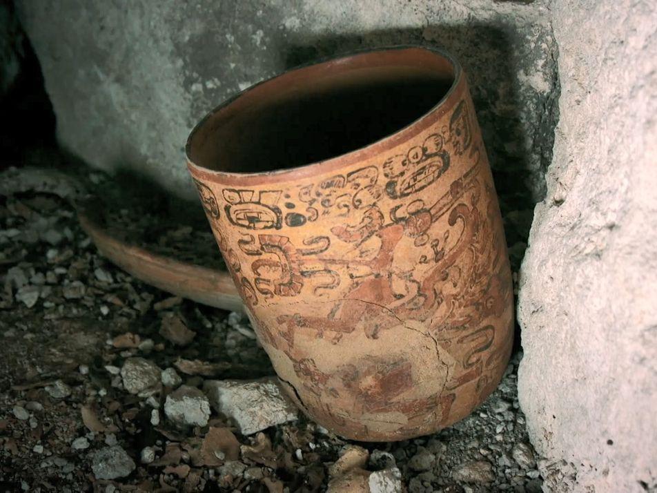 Découverte d'un trésor maya inestimable