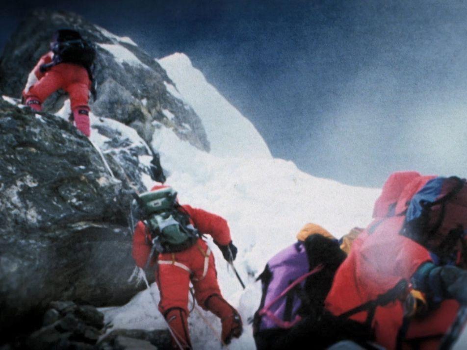 L'Everest, impitoyable et mortel