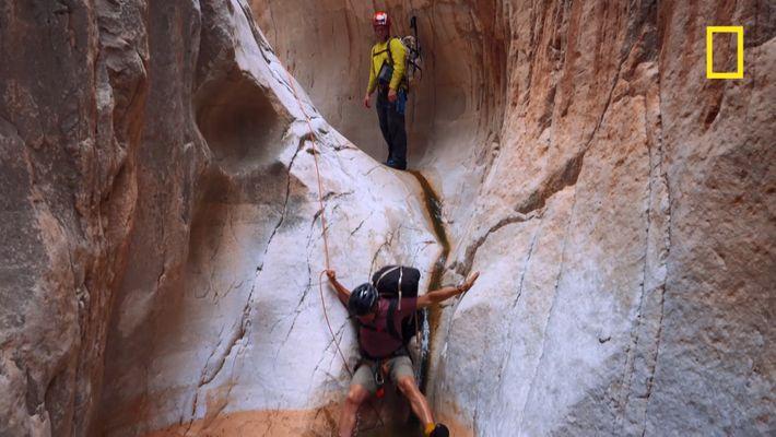 La traversée du Grand Canyon, une dangereuse entreprise