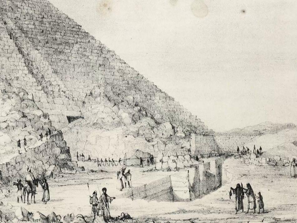 Mykerinos, la plus petite des pyramides de Gizeh