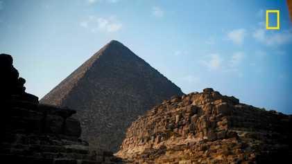 Les systèmes de défense des pyramides de Gizeh