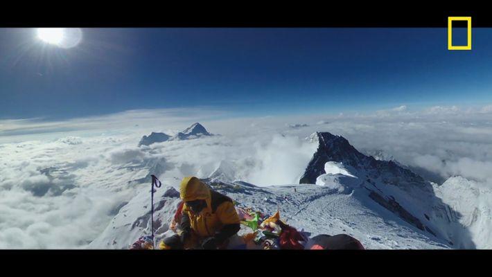 Bienvenue au sommet de l'Everest