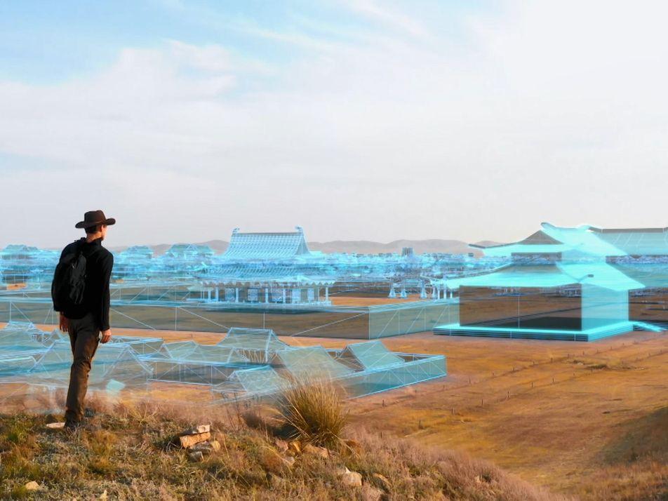Reconstitution 3D d'une formidable cité mongole