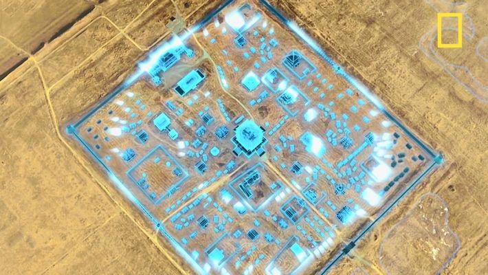 Des drones révèlent l'existence de constructions historiques de Xanadu