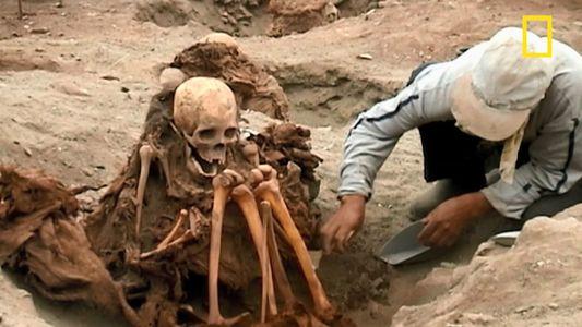 Découverte d'un mystérieux cimetière inca