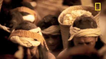 Découverte d'un palais inca, caché sous une pyramide