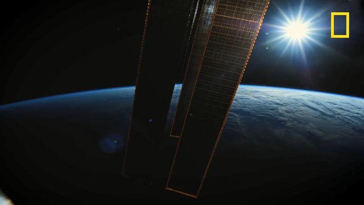 Les étoiles filantes vues depuis l'ISS