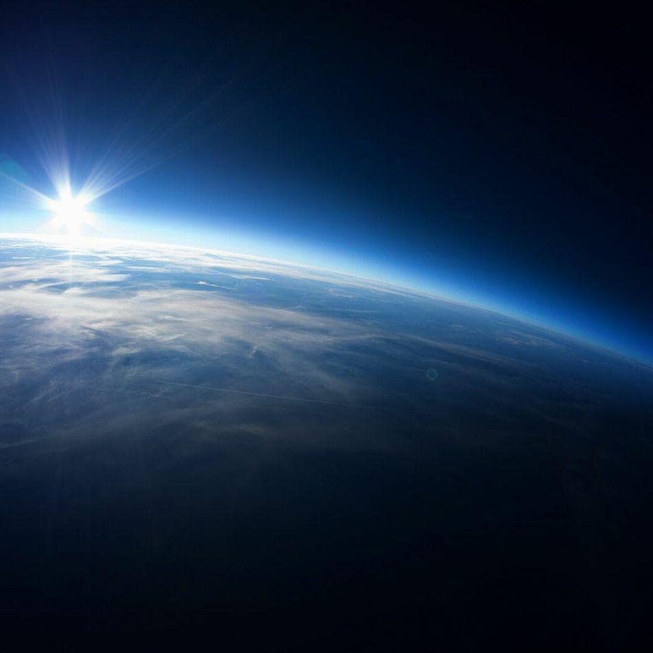 Vidéo : l'onde de choc de l'entrée d'une navette spatiale dans l'atmosphère