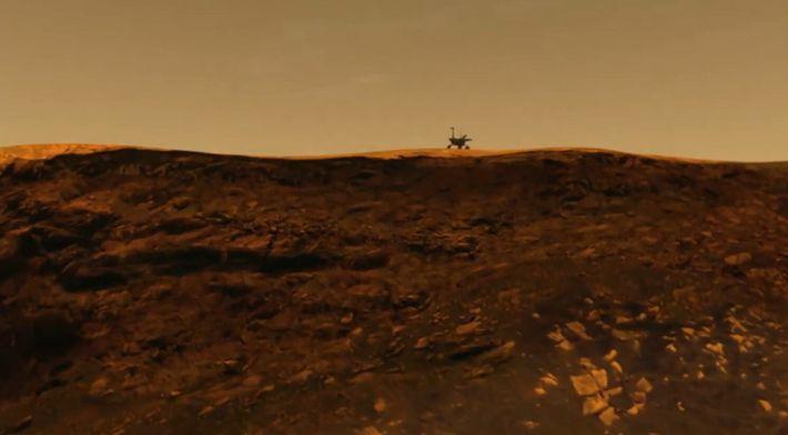 Le cratère Victoria raconte l'histoire de la planète Mars