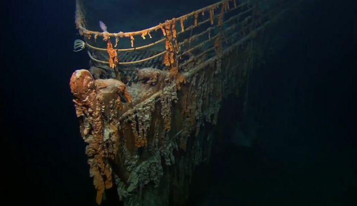 Mélange d'émotions lors de la découverte du Titanic