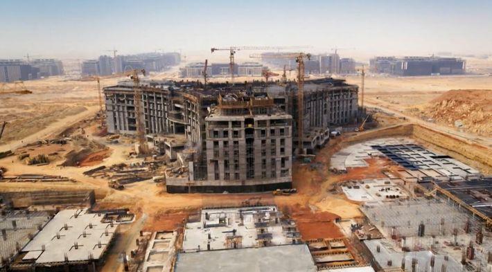 Voici le plus vaste chantier d'Afrique : la nouvelle capitale d'Égypte