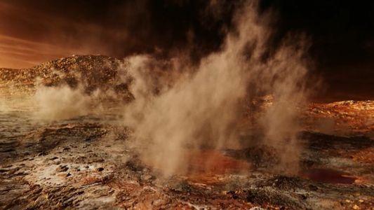 Découverte involontaire d'un nouveau matériau sur Mars
