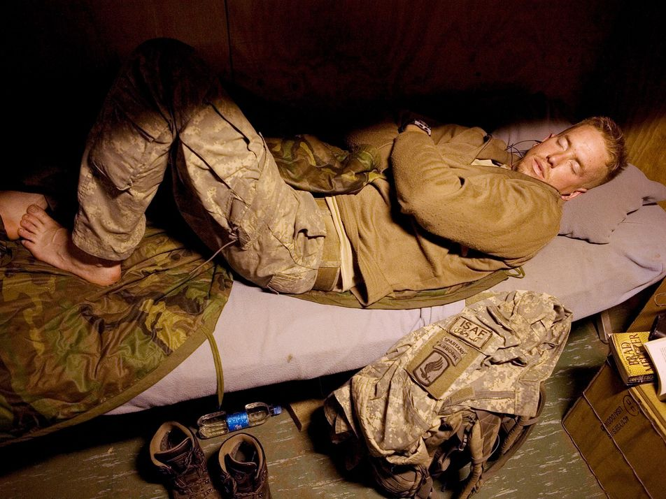 Les militaires endormis de la vallée de Korengal