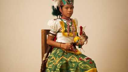 Mexique : les costumes traditionnels de l'État de Oaxaca