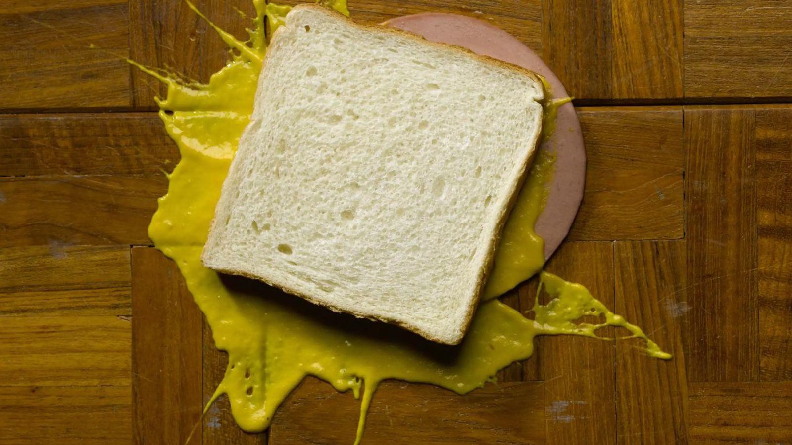 Ce sandwich peut-il encore être consommé après être tombé par terre ?